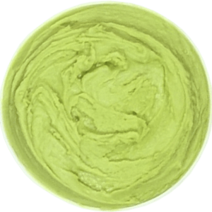 INDIA TREE Coloring Guideline - Yellow Green Creamed Frosting Instructions
