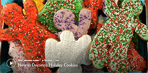 New York Time Video How To Decorate Holiday Cookies