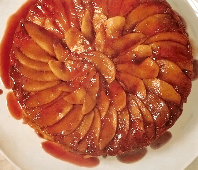 Rose Levy Beranbaum's Apple Upside-Down Cake